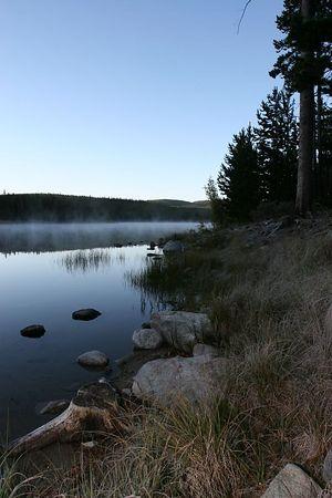 Big OK (Island) Lake British Columbia Fly Fishing Trip in Late September