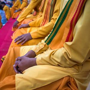 Ganga Aarti Ritual on the Ganges