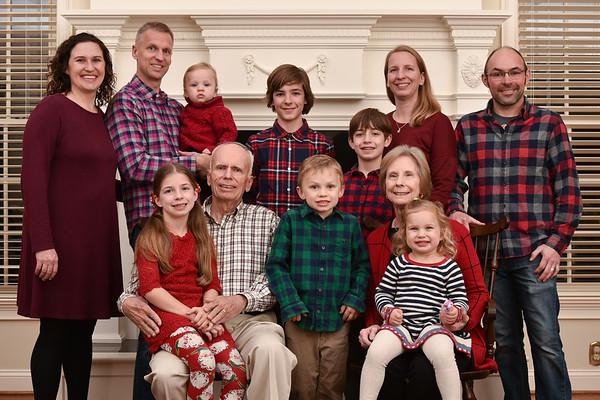 Koehrsen Family Christmas Photos 2020