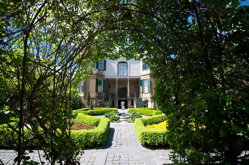 Savannah - garden at Owens-Thomas house