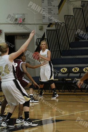 NHS Lady Raiders vs Blytheville 2012