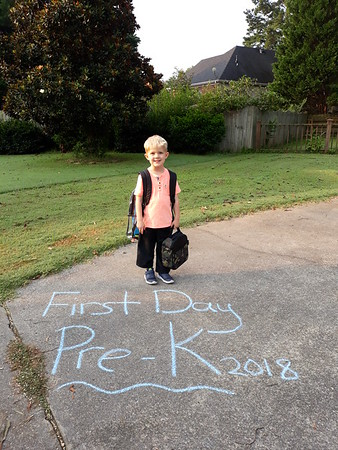 2018 August 13 Athan First Day Prek
