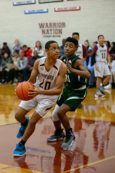Middle School Boys Basketball Maroon Team vs. FXW