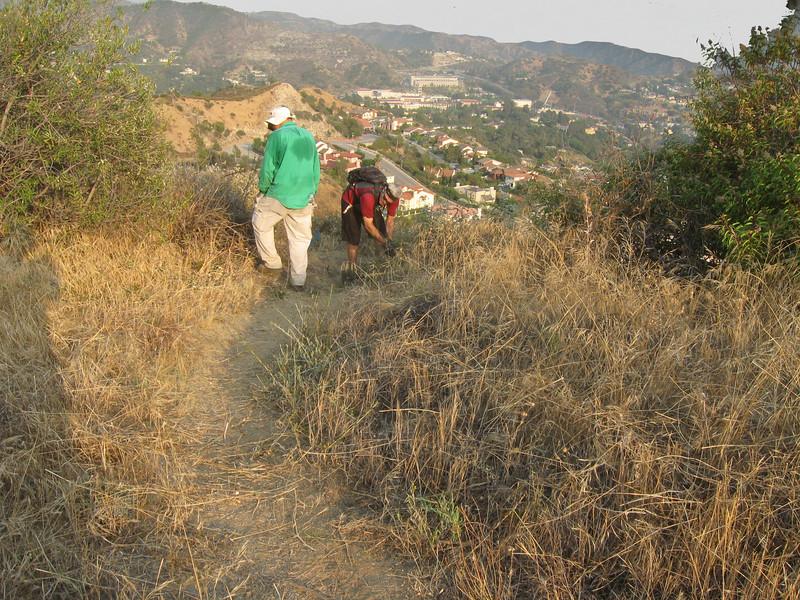 20080625014-Glendale Las Flores Trailwork.JPG