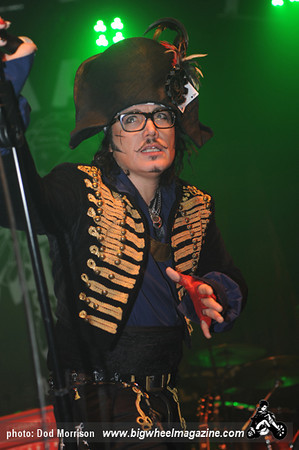 Adam Ant & The Good the Mad & The Lovely Posse- at Picture House - Edinburgh, UK - December, 11, 2011