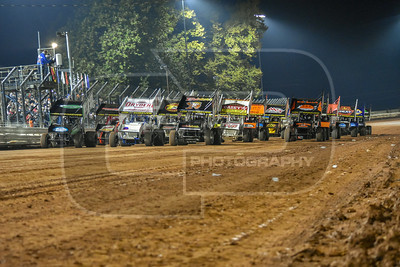 Night 1 of the National Open at Williams Grove Speedway