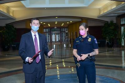 Secret Service recognizes Belmont Security