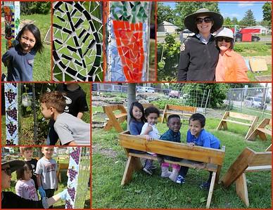 Frank Allis Elementary School Garden Mosaics & Carnivallis