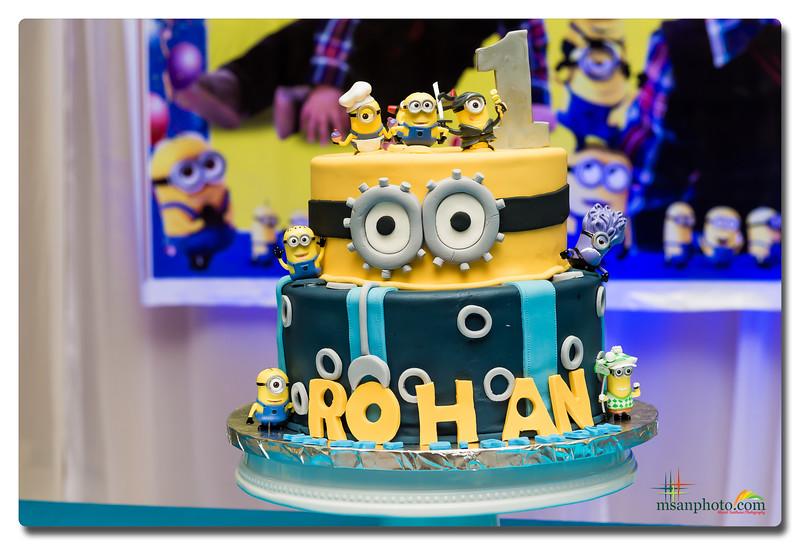 Rohan's 1st Birthday