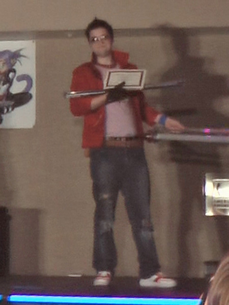 Honorable Mention Travis Touchdown from No More Heroes