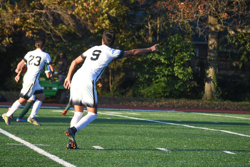Boys Varsity Soccer - October 30, 2017
