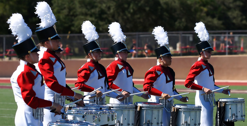 Thunder in The Hills Drumline Competition 2013