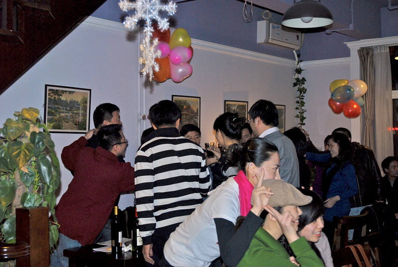 Will & Sigrid's Christmas Party 2009 - Dec 25, 2009 @ Seasons Cafe Beijing (3).jpeg