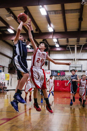 Mar 1 - BBall - 6th Gr Boys vs SAS Red