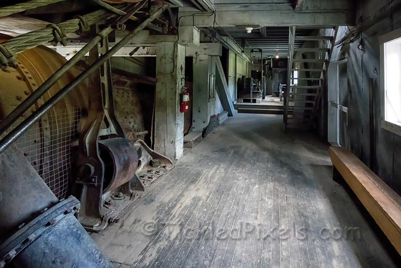 Inside Dredge #4