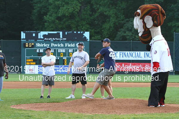 vs. Gaithersburg Giants, 6/26/15, Fans