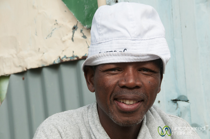 Emanuel from Masiphumelele Township, Cape Town