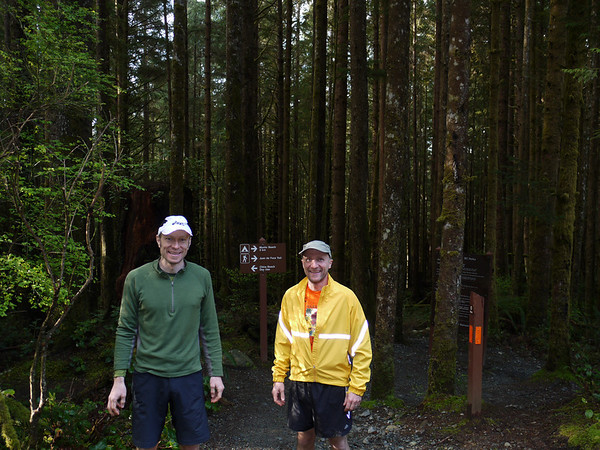 Juan de Fuca Trail Run April 2010