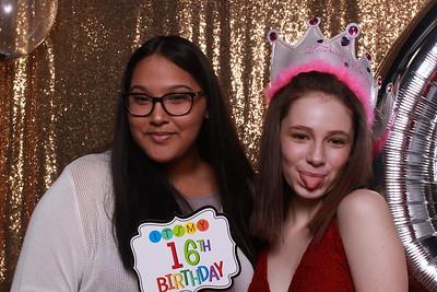 Sweet 16 for Kiley & Alexa