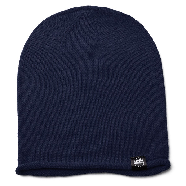 Outdoor Apparel - Organ Mountain Outfitters - Hat - Oversized Knit Beanie - Navy.jpg