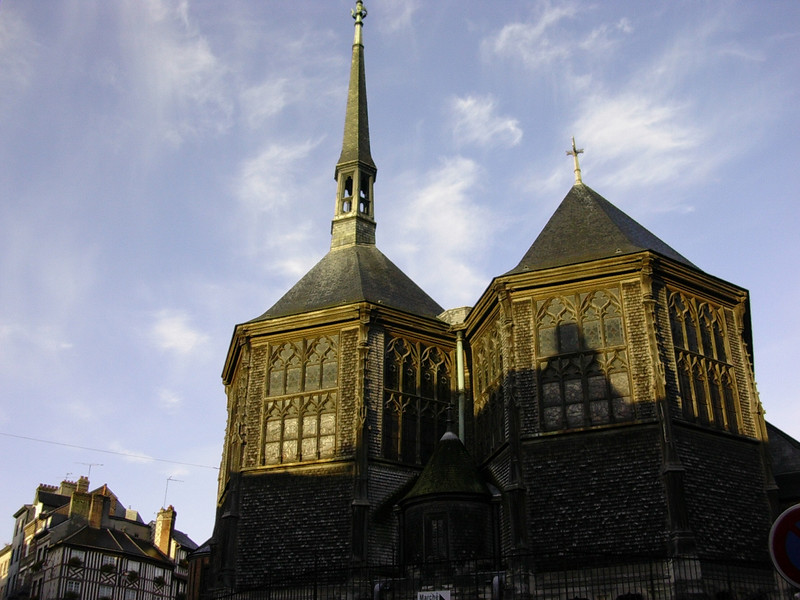 L'Eglise Sainte-Catherine (Foto: Ståle)