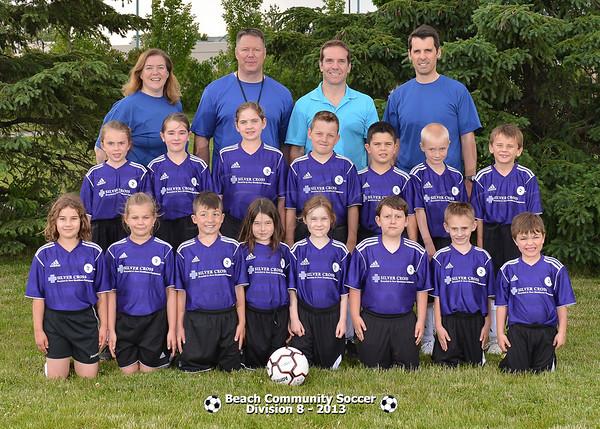 Division 8 - Team Pictures