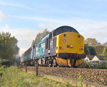 Anglia Class 37s. 15/11/17 - 17/11/17.