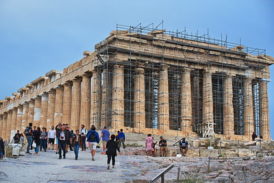 The Acropolis:  Athens, Greece