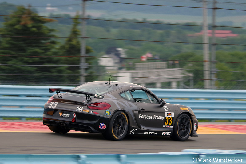 8th GS Mark Miller / Till Bechtolsheimer CJ Wilson Racing Porsche Cayman GT4