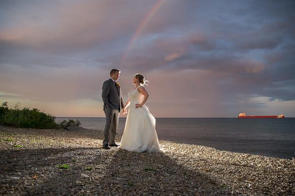 Mackinac Island Mission Point Resort Wedding Sandra + David