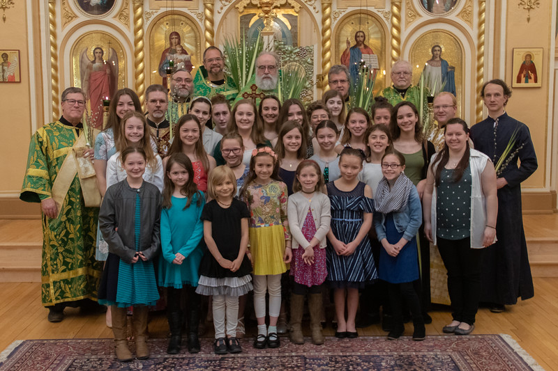Palm Sunday Group Photos 2019