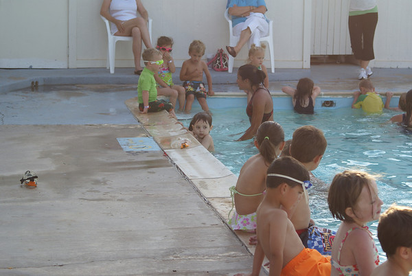 Jake's 1st Swimming Lessons