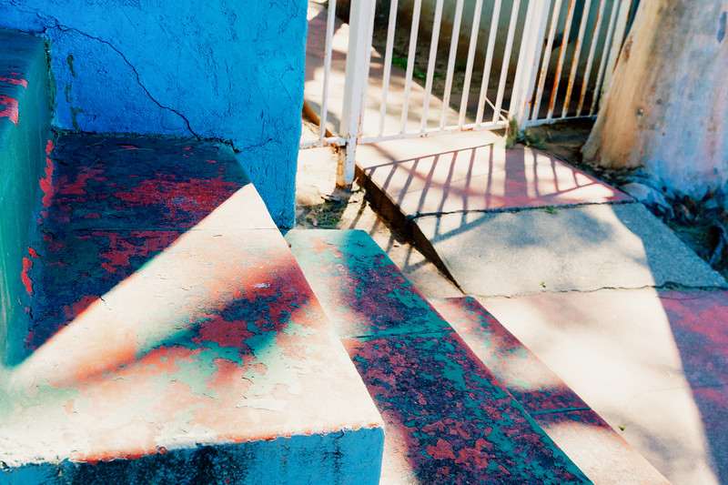 Layers of paint, layers of history. Hyde Park, South Los Angeles.