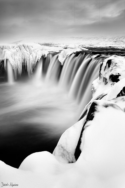 Goðafoss in Winter