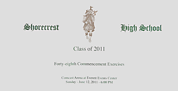 Shorecrest High School 2011 Graduation