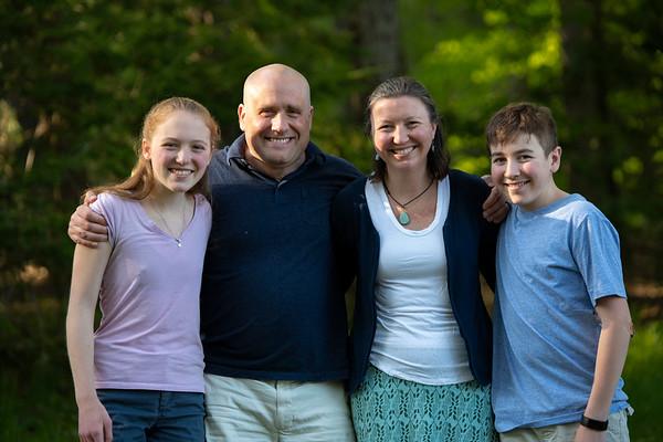 Evans MacLaury Family