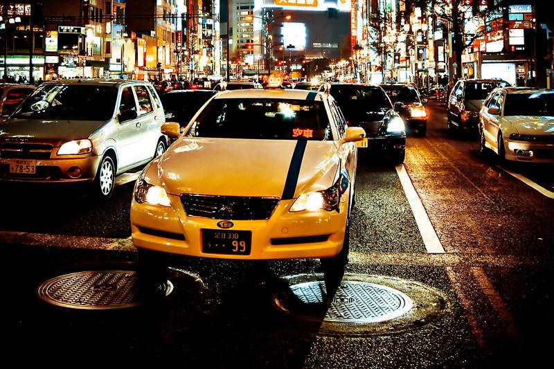 TOKYO TAXI - Japan - Nippon - Japon