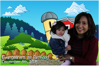 Evangeline's 1st Birthday