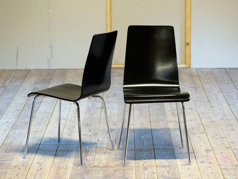 svarta stolar 50kr st