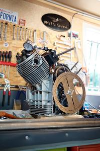 Restauration 750 S3 Moto Guzzi