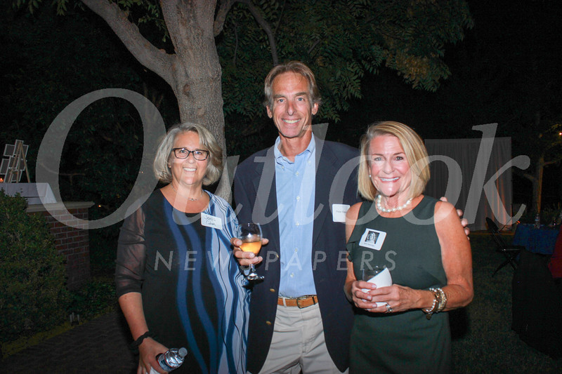 Janis Cohen, Peter Kissen and Kim Kenney