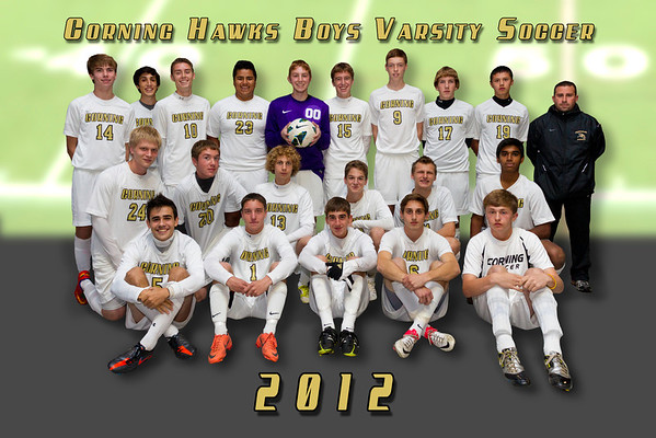 2012 Corning Hawks Team Photo