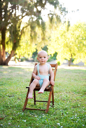 Nolan 1 Year Portraits