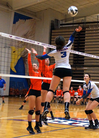 LB VB vs Upper Sandusky (2016-09-22)