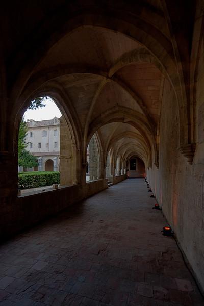 Saint-Maximin-la Baume Cloister Aisle