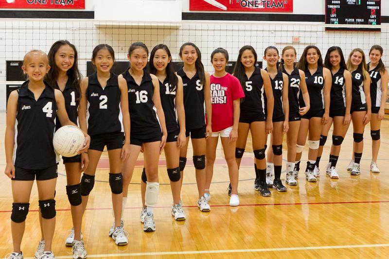 2012 Intermediate Volleyball