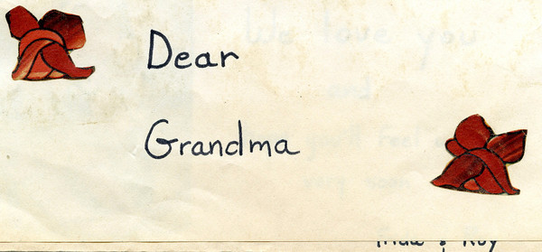 Frida/Roy Sent Card To Grandmother Elka in the 70's