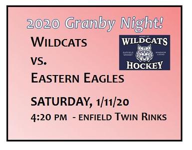 2020_01_11 WIldcats Varsity vs Eastern Eagles