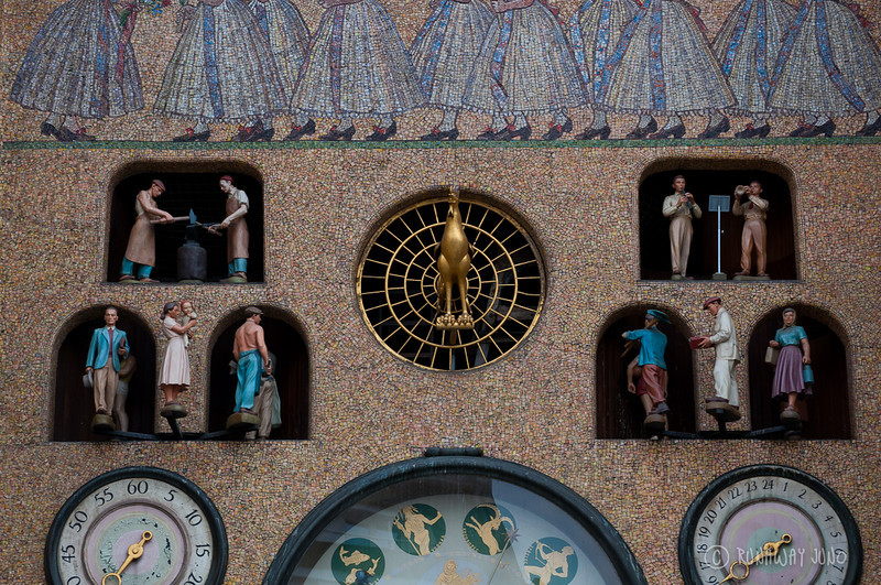 Astronomical Clock Detail: Upper