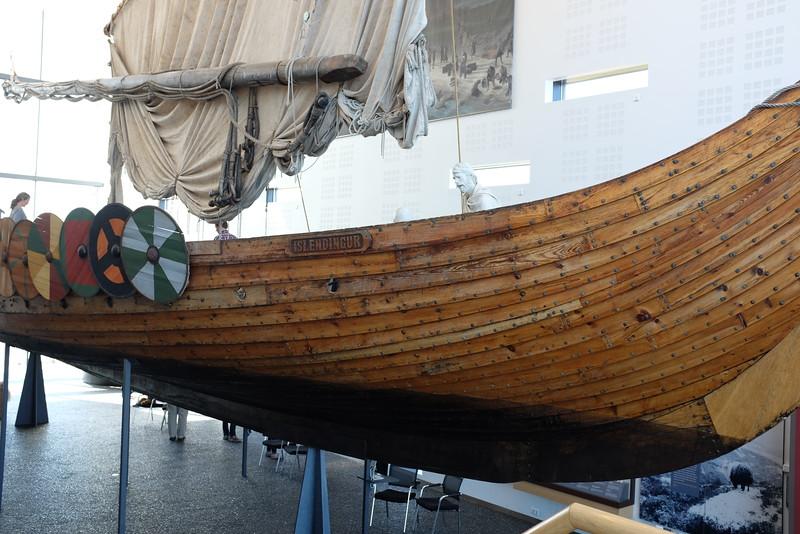 Viking ship (replica)